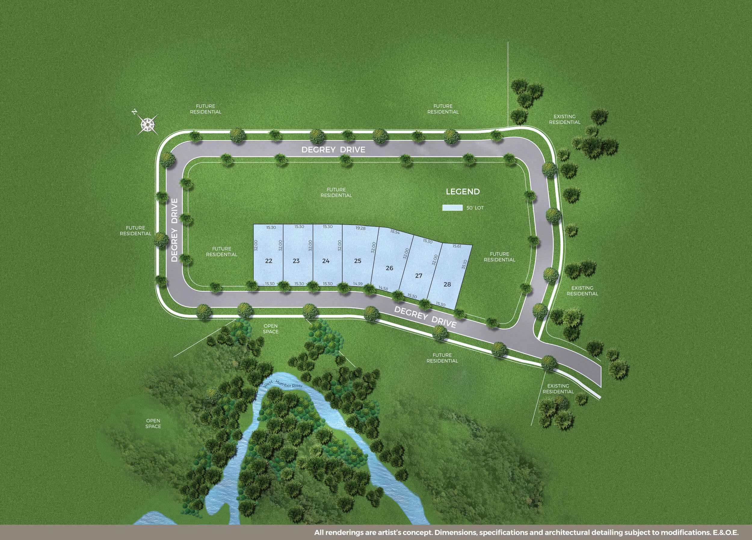 The Enclave Siteplan