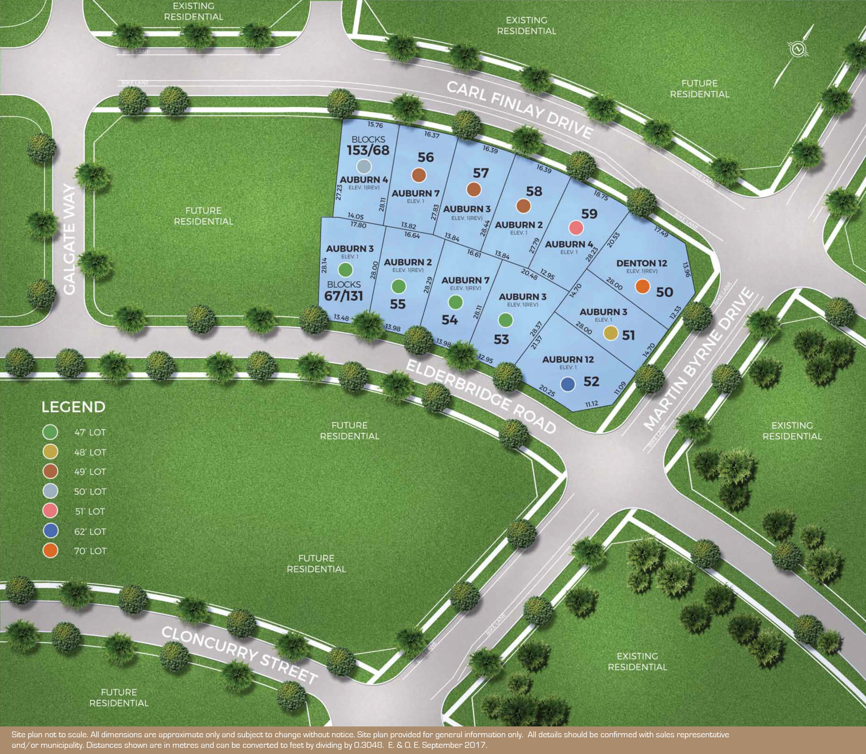 The Reserve Siteplan