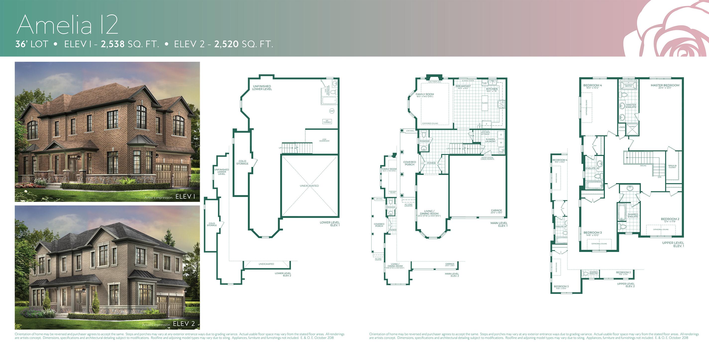Amelia 12 Floorplan