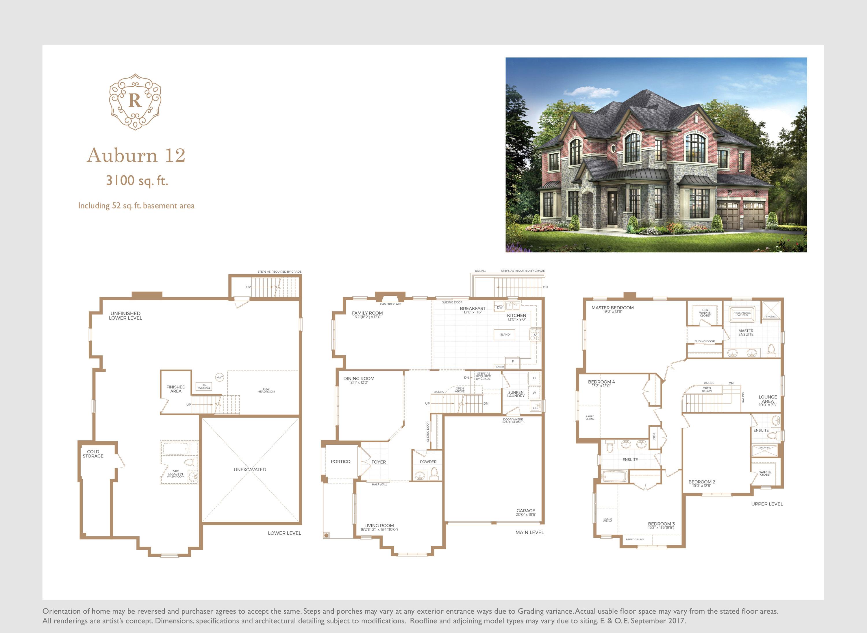 Auburn 12 Floorplan