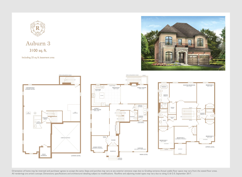 Auburn 3 Floorplan