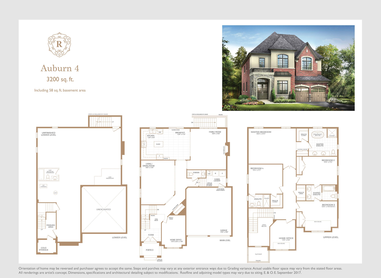Auburn 4 Floorplan