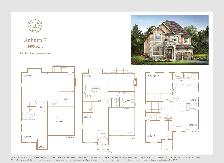 Auburn 7 Floorplan