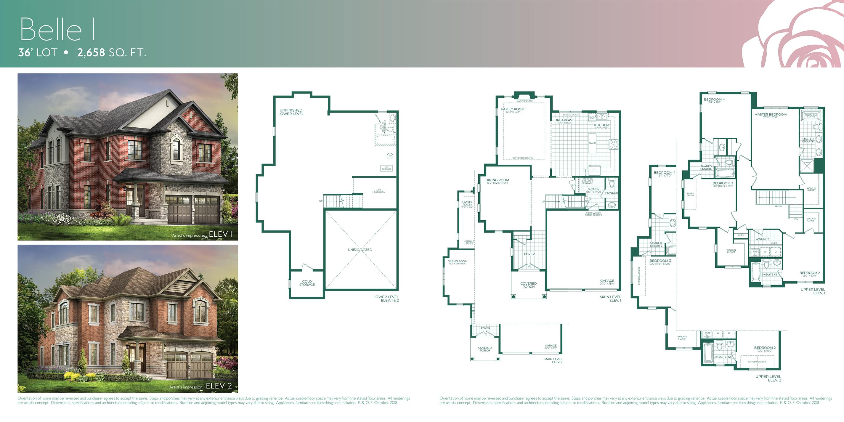 Belle 1 Floorplan