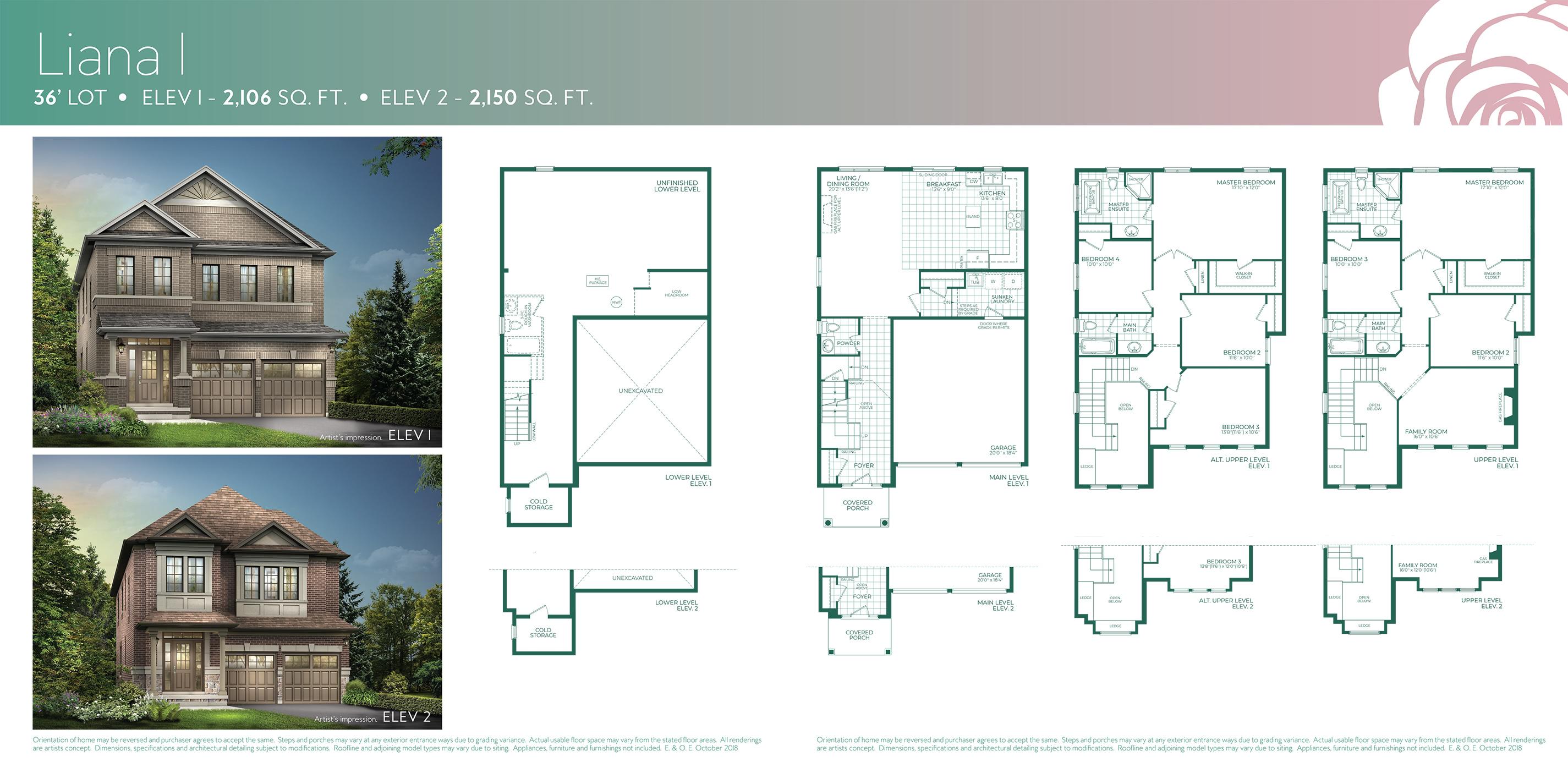 Liana 1 Floorplan
