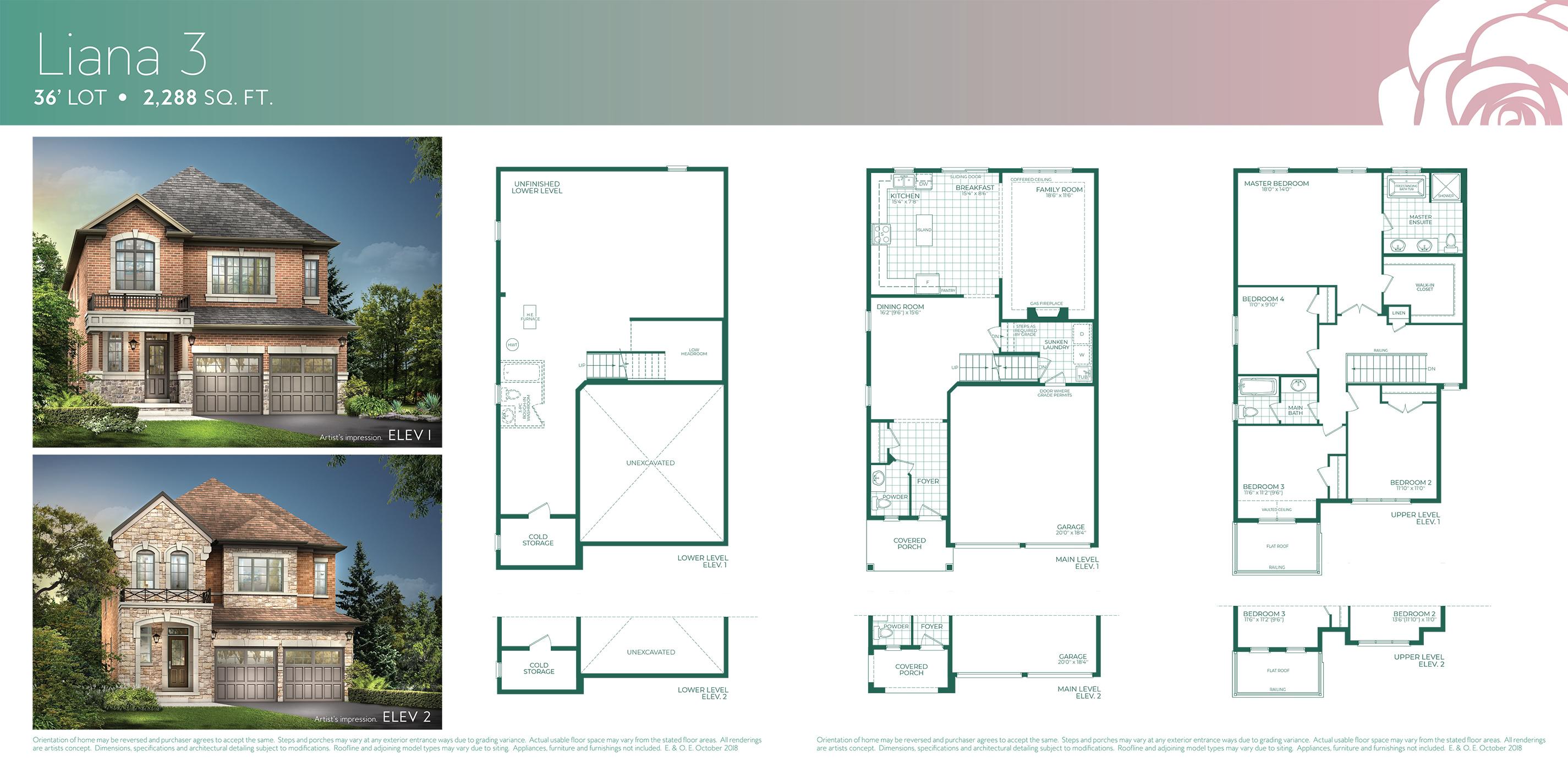 Liana 3 Floorplan