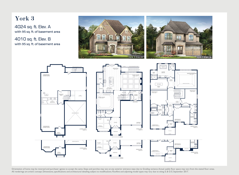 York 3 Floorplan