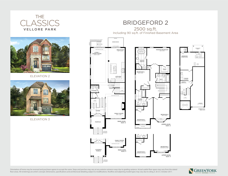 Bridgeford 2 Floorplan