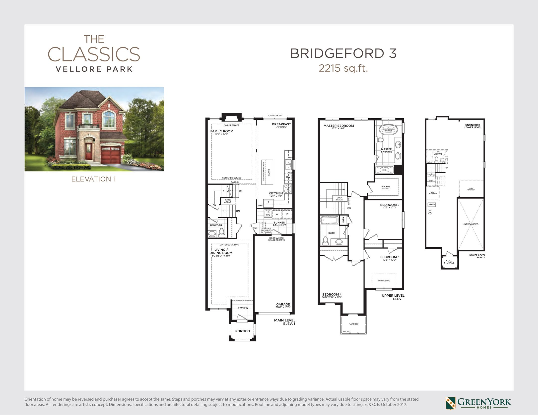 Bridgeford 3 Floorplan