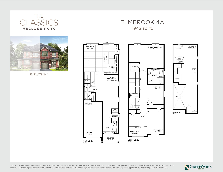 Elmbrook 4A Floorplan