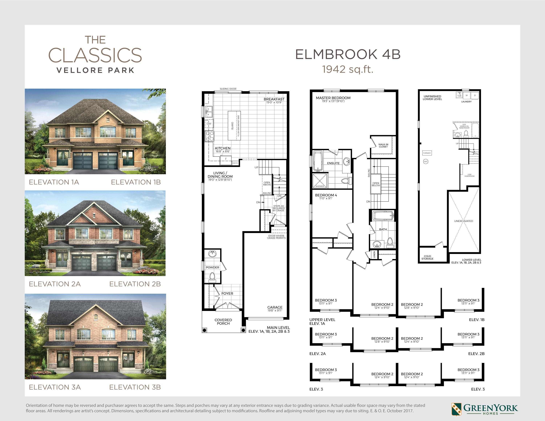 Elmbrook 4B Floorplan