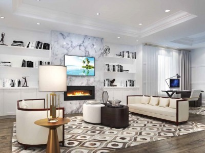 Brampton Luxury Home Family Room