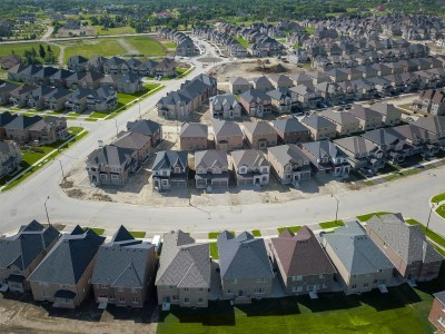 The Reserve Community Aerial New Homes