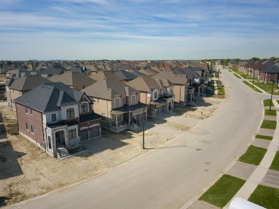 The Reserve Community Aerial Streetscape